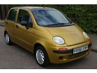 DAEWOO MATIZ 800cc 5 DOOR ONLY 16,000 FULL SERVICE HISTORY 1 OWNER FROM NEW