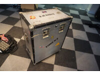 Large flightcase for amp
