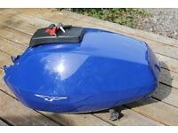 Moto Guzzi petrol tank