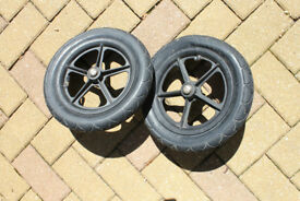 Bugaboo Cameleon 2x 12'' air filled rear wheels / tyres - in good working condition