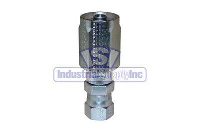 Hydraulic Fitting Reusable 38 Hose I.d. X 38 Female Jic 100r2at Hose