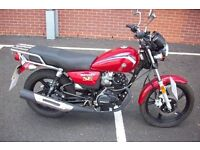 Honley HD3 125cc commuter learner legal 2014 64 reg immaculate bike NO OFFERS CAN P/X
