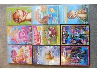 children DVDs barbie monster high