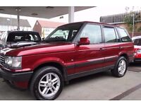 Land Rover Range Rover 2.5 TD DSE 5dr LEATHER, RIOIJA RED IN COLOUR