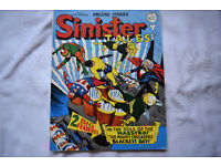 Vintage Sinister Tales Comic by Alan Class No.89 1 Shilling 68 Pages 1 Owner Near Mint!