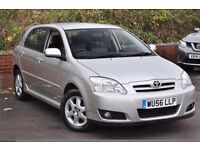 *12 MTHS WARRANTY*10 TOYOTA SERVICE HIST STAMPS*2006(56)TOYOTA COROLLA 1.6 VVTI COLOUR COLLECTION*