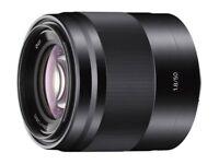 Sony E 50mm f/1.8 OSS Lens For E Mount