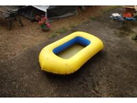 Awesome Yellow Inflatable Kids/Small Dinghy For Sale