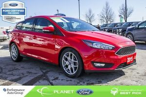 2015 Ford Focus SE FORD CERTIFIED LOW RATES & EXTRA WARRANTY! -