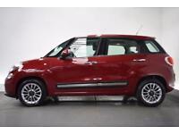 FIAT 500L 1.2 MULTIJET LOUNGE DUALOGIC 5d AUTO 85 BHP (red) 2014