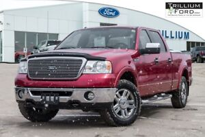 2008 Ford F-150 Lariat Super Crew 5.4L Lariat Chrome Package