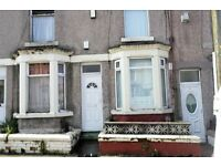 31 Harrowby Road Birkenhead 2 bedroom terraced house with GCH & DG recently refurbished. DSS WELCOME