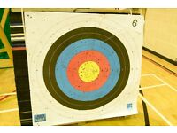 3 no 1300x1300 Layered Archery Targets & Stands