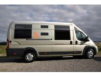 *RESERVED* Globecar Familyscout 6 berth campervan with 6 seat belts