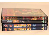 1980s children's DVDs, He-Man, Dungeon and Dragons & Ulysses 31 (Mint Condition)
