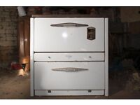 French classic solid fuel cooker, suit cottage/narrow boat