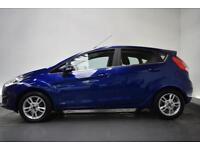 FORD FIESTA 1.2 ZETEC 5d 81 BHP (blue) 2015
