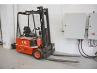 Linde E15 Forklift with Akkumat Charger PERFECT WORKING ORDER QUICK SALE