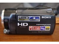 Sony HDR-XR550 Camcorder Like new 12 Megapixels 240GB drive wide angle lens. Does stills as well