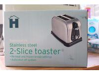 Sainsbury 2 slice toaster