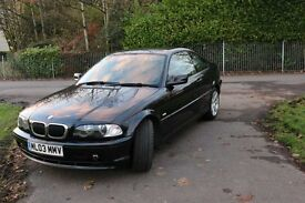 BMW 318i 2003 Sports Coupe Manual LOW MILEAGE & CLEAN