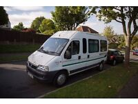 2003 FIAT DUCATO CAMPER with extras