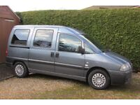 Peugeot Expert Wheelchair Accessible 2006 3 Seats plus Wheelchair