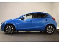 MAZDA 2 1.5 D SPORT NAV 5d 104 BHP (blue) 2016