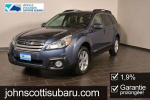 2014 Subaru Outback 2.5i CVT 1.9% Garantie Prolongee