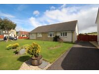 Spacious 3 bed semi detached BUNGALOW with conservatory FOR SALE in Milton of Leys of Inveress.