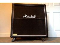 marshall 4x12 used and still going after a long time like a whiskey that gets better with age