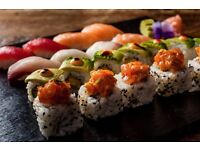 EXPERIENCED SUSHI CHEFS REQUIRED – TO WORK ALONGSIDE FAMOUS EX UNI RESTAURANT HEAD CHEF!! FULL TIME