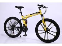 FOLDING ADULT/KIDS/CHILDRENS MOUNTAIN BIKE