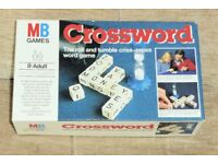 Vintage 1978 MB Games Crossword, Make Quickest Highest Scoring Crossword, 1 or More Players, Histon