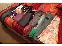 Large bundle of girls clothes Age 8-9