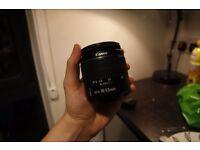 Canon 18-55mm f3.5-5.6 Lens