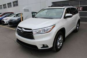 2014 Toyota Highlander Limited + AWD + V  + TOIT PANO + SMART KE