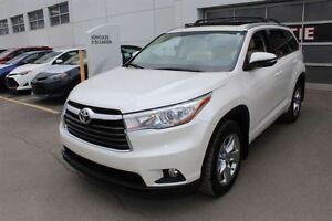 2014 Toyota Highlander Limited + AWD + V  + TOIT PANO + SMART KE