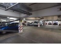 Secure underground parking in City Centre
