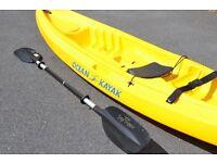 Ocean Kayak Kea - Sit On Top Kayak For Children plus Day Tripper Paddle