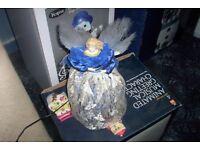 BLUE DRESS FIBRE OPTIC ANGEL.