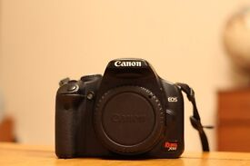 Canon Rebel XSi (450D) + 18-55mm lens