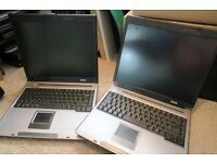 Job Lot 12 Laptops: 12 Laptops from School Clearance for Spares or Repair