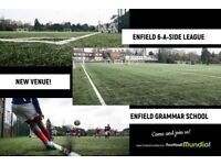 Enfield 6 a side is moving- Brand new 3G pitch - Teams needed