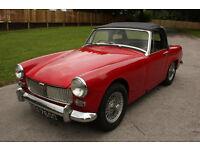 1966 MG Midget 1.1 Petrol Manual Red 800 Miles