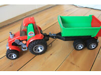 Bruder Tractor with Trailer