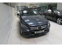 MERCEDES-BENZ C CLASS 2.1 C220d Sport (Premium Plus) Saloon Auto 4dr (start/stop) (grey) 2014