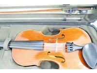 Violin 4/4 Stentor Conservatoire Model with Case and Bow