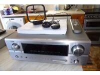 Denon AVR-2307 AV Surround Receiver and Denon DVD-1730 Video Player