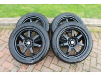 Winter alloy wheels and tyres suit 2013 model Honda Civic